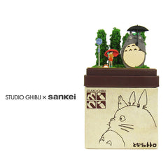 Sankei Papercraft - Studio Ghibli Mini (Totoro at bus stop)