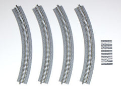 TOMIX 1774 - Fine Track Wide PC Curved Track C391-45-WP (set of 4)