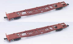 TOMIX 2783 - JNR Container Wagon Type KOKI50000 (without container / 2 car set)