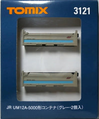 TOMIX 3121 - JR UM12A-5000 Container (gray)
