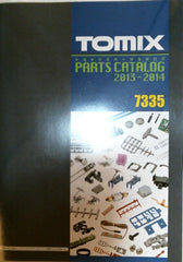 TOMIX 7335 - Parts Catalog 2013-2014