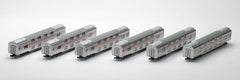 "TOMIX 92410 - JR Limited Express Sleeper Cars Series E26 ""Cassiopeia"" (6 car add-on set B)"