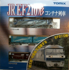 TOMIX 92491 - JR EF210 Container Train Set