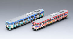 "TOMIX 98054 - Diesel Train Type KIHA40-2000 ""KITARO / NEKO-MUSUME"" (2 car set)"