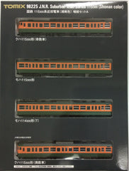 TOMIX 98225 - Suburban Train Series 115-300 (Shonan color / 4 car add-on set A)