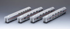 "TOMIX HO-089 - (HO Scale) JR Sleeper Coach Series E26 ""CASSIOPEIA"" (4 car add-on set A)"