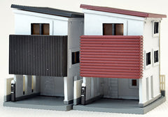 Tomytec Building Collection 017-4 - Contemporary Townhouse B