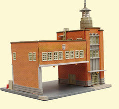 Tomytec Building Collection 036 - Fire Station
