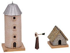 Tomytec Building Collection 100-2 - Farm Ousbuilding Set