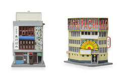 Tomytec Building Collection 086 - Restarurant and Pachinko Shop