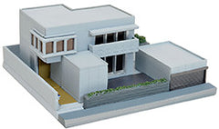 Tomytec Building Collection 012-3 - Modern House