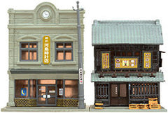 Tomytec Building Collection 045-4 - Jewelry Shop and Liquor Store