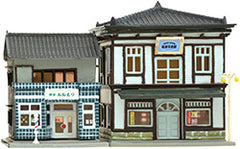 Tomytec Building Collection 046-4 - Barber Shop and Photo Studio