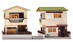 Tomytec Building Collection 041-3 - Suburban Townhouses