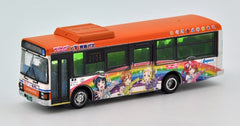 "Tomytec Bus Collection - Tokai Bus Orange Shuttle ""LOVE LIVE! SUNSHINE!!"" Bus #2"