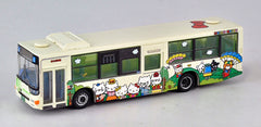 "Tomytec ""Bus Collection"" - Kita-Kyushu City Bus ""HELLO KITTY BUS #1"""
