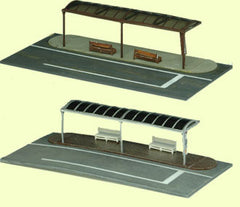 Tomytec Scenery Collection 007 - Bus Stop A