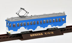 "Tomytec ""Tetsudou Collection"" - Hankai Tram Type MO161 (#164 / cloud blue)"