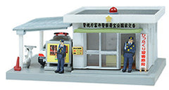 Tomytec Visual Scene Accessory 047-2 - Police Station