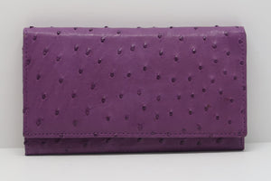 Medium Classic Purse Single Colour - African Violet
