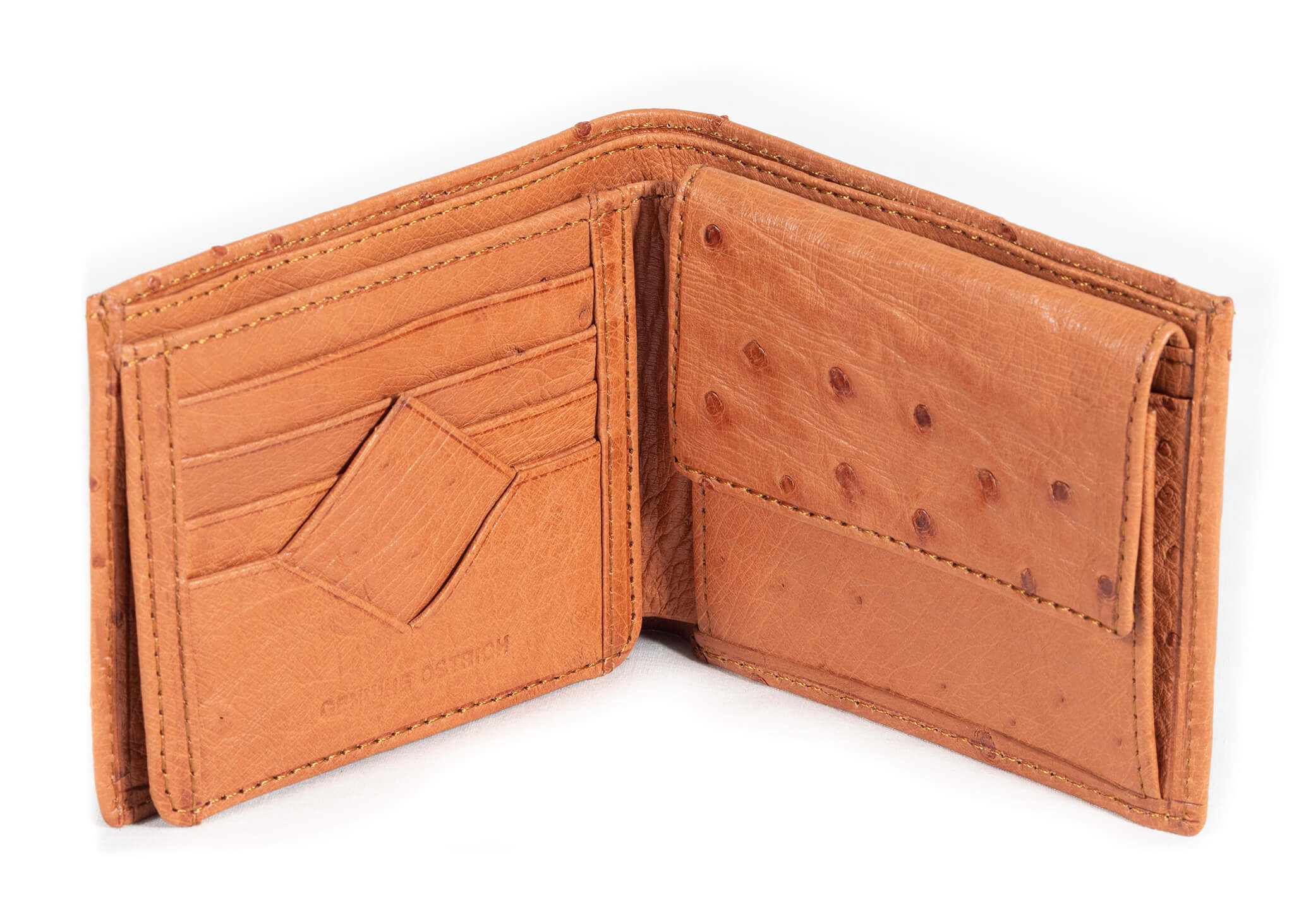 Classic Wallet Single Colour - Cognac