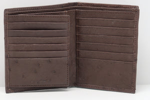 Credit Card Wallet Single Colour - Nicotine