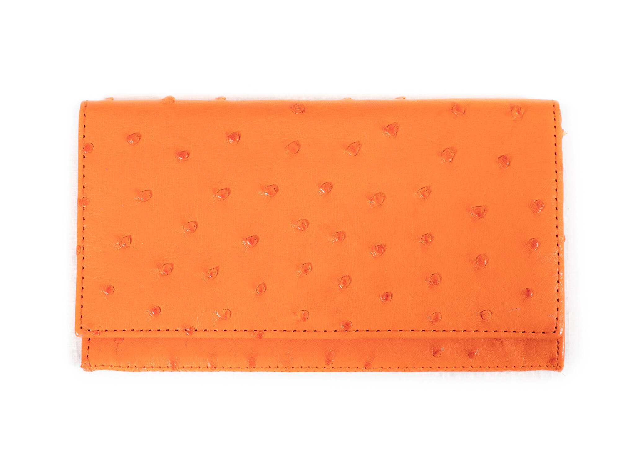 Medium Classic Purse Single Colour - Tangerine