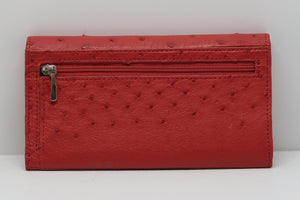 Medium Classic Purse Multi Colour - Red/Black