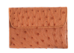 Unisex Euro Purse Multi Colour - Cognac/Kango