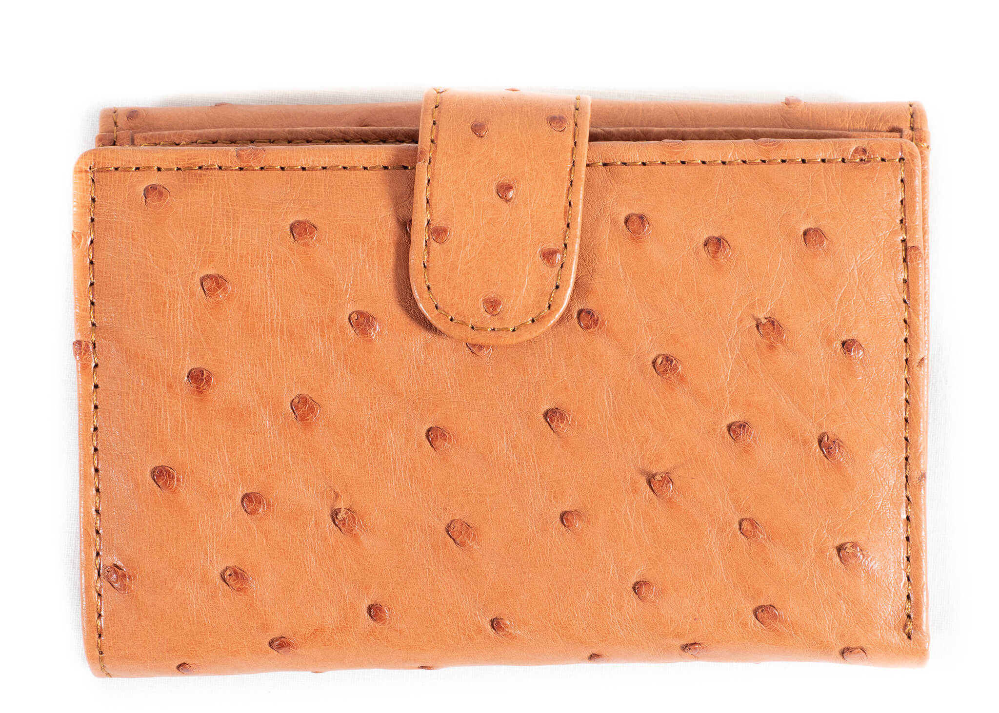 Unisex Euro Purse Single Colour - Cognac