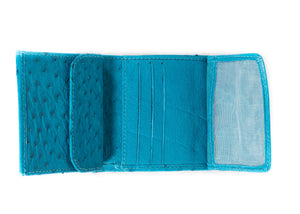 Unisex Wallet Single Colour - Turchese