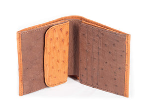 Unisex Wallet Multi Colour -  Cognac/Kango