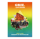 2018 Red Rocks Live Band 18 x 24 Poster