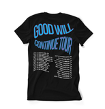 Panda Tour T-Shirt Good Will Continue