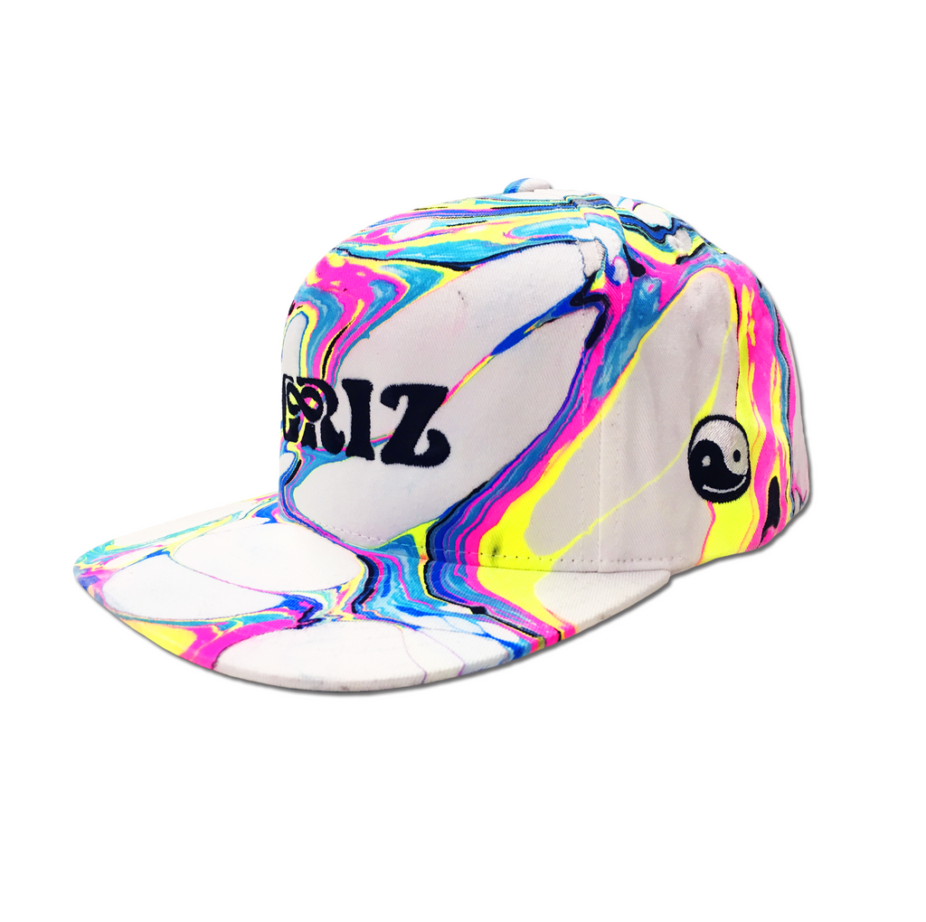 GRiZ x BL Visuals Painted Blacklight Snapback
