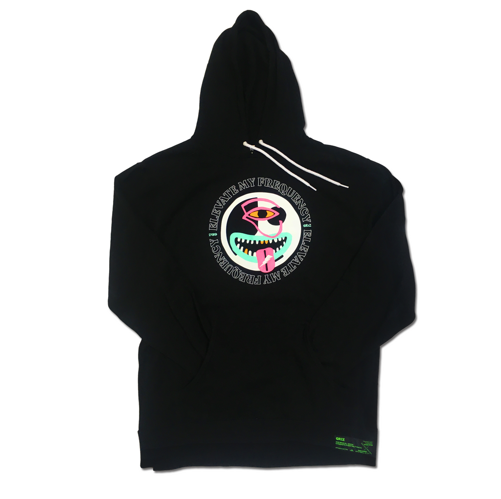 Elevate My Frequencies Pullover Hoodie