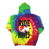 Ride Waves Limited Tie Dye Hoodie