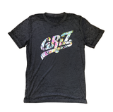 Acid Wash Logo T-Shirt in Black