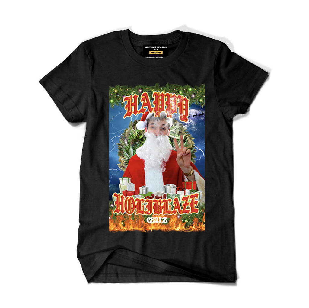 Happy Holiblaze T-Shirt