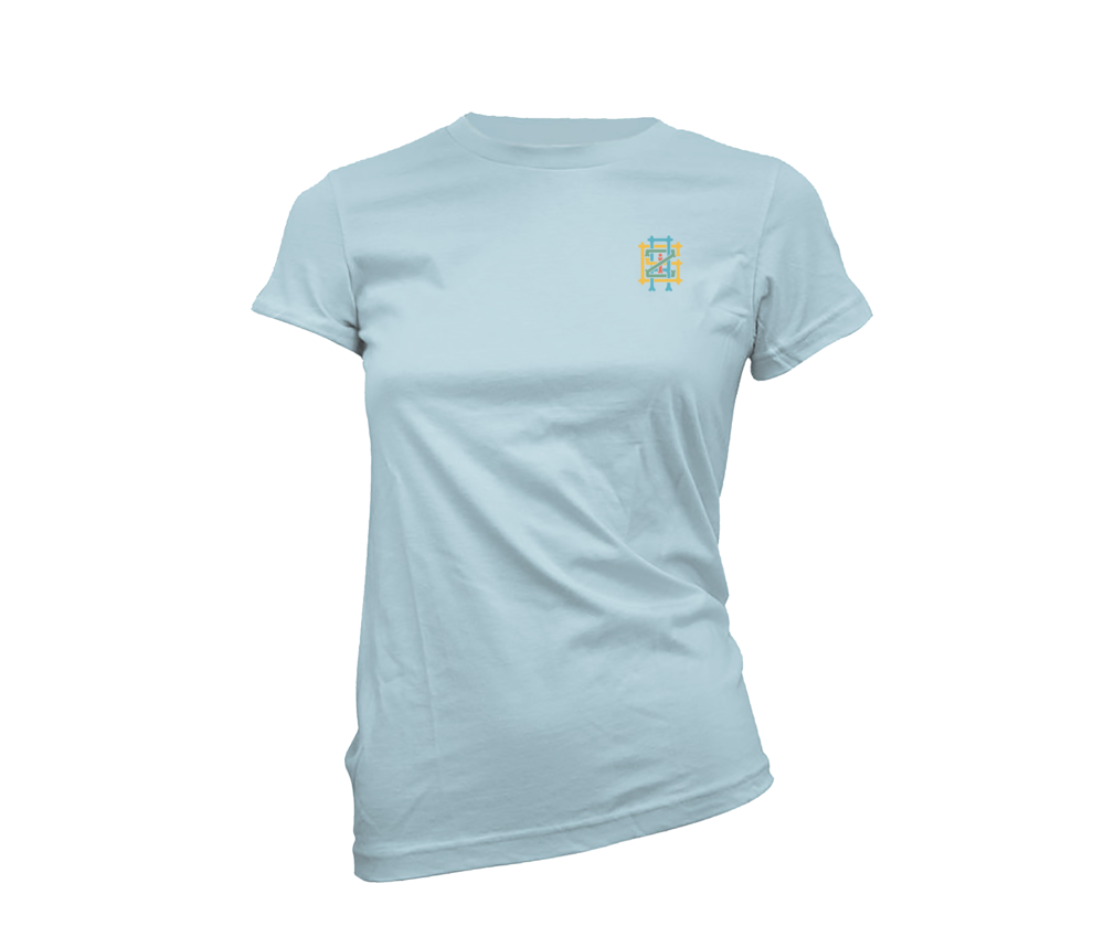 Monogram Logo Women's Embroidered Tee
