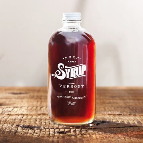 100% Pure Vermont Maple Syrup (Dark)