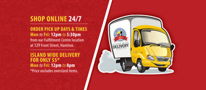 DNA Creative Shoppe offers island wide delivery Monday to Friday from 12 p.m. to 8 p.m.