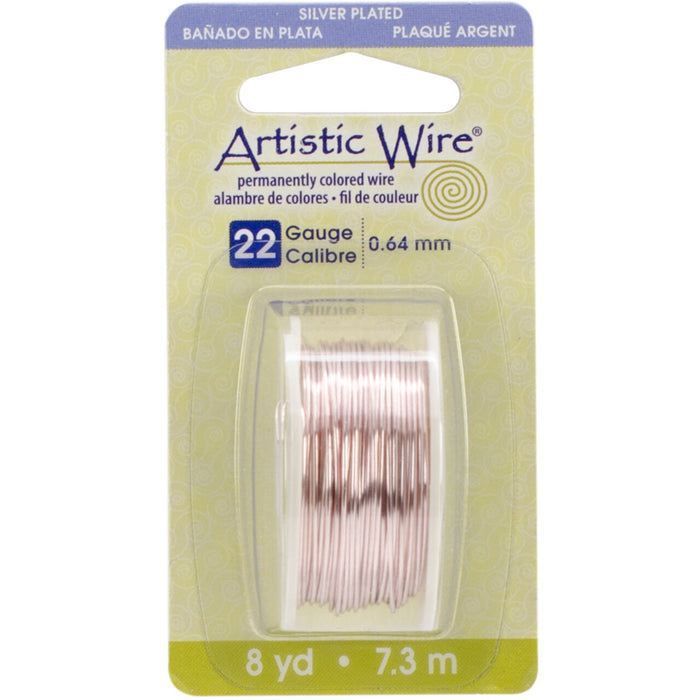 Artistic Wire 22 Gauge 8yd - Rose Gold