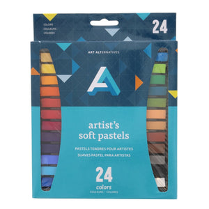 Artist Soft Pastel 24 Colour Set