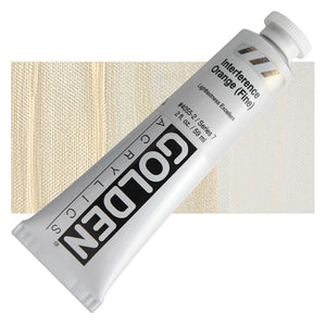 Golden Heavy Body Interference Colours - 2oz.