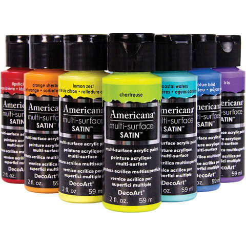 Americana Multi-Surface Satin Acrylics