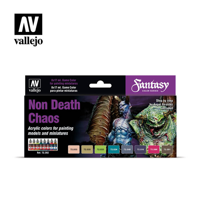 Vallejo Non Death-Chaos Paint Set