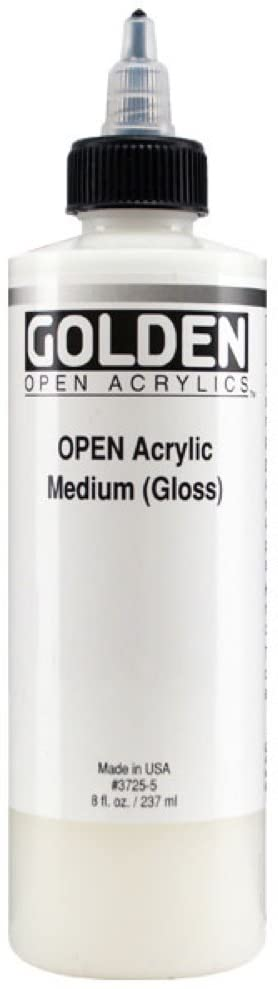 Golden OPEN Acrylic Medium - Gloss - 4OZ