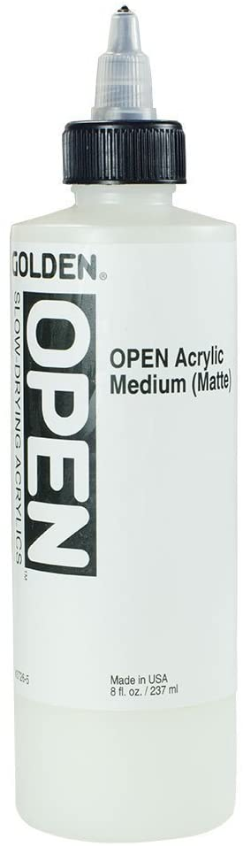 Golden OPEN Acrylic Medium - Matte - 16OZ