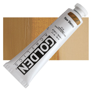 Golden Heavy Body Acrylics - 2oz. - Neutrals